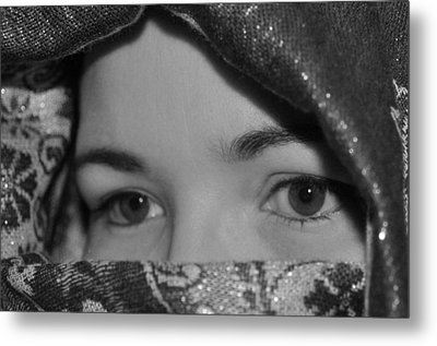 Subtle Gaze Metal Print by Michelle McPhillips