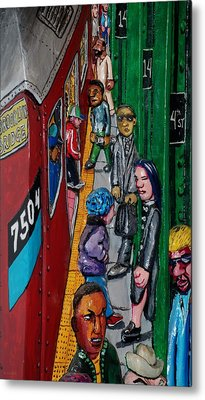 Subway 1 Metal Print by Rob Hans
