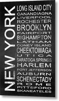 Subway New York State 3 Metal Print