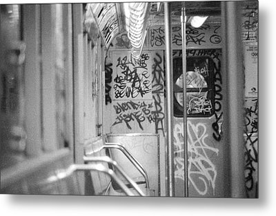 Metal Print featuring the photograph Subway by Steven Macanka