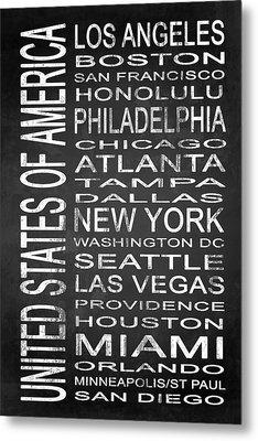 Subway United States 1 Metal Print