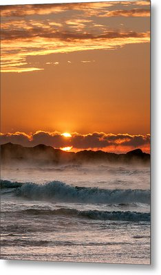 Subzero Sunrise Metal Print