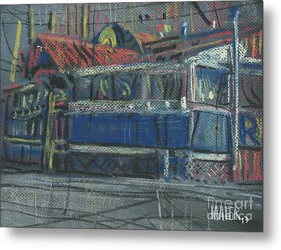 Sue's Metal Print by Donald Maier