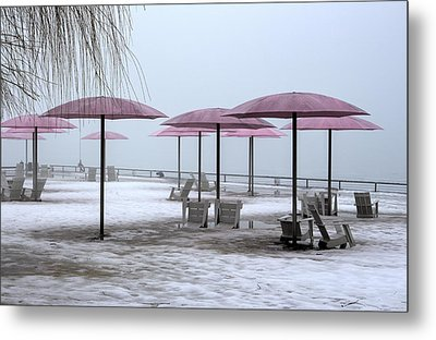 Sugar Beach Metal Print by Nicky Jameson