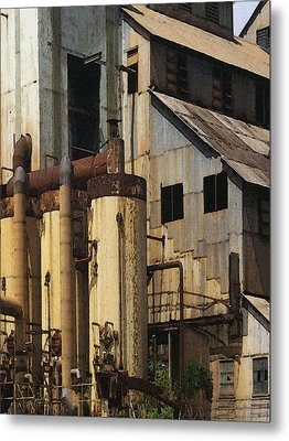 Sugar Factory Metal Print