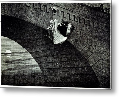 Suicide Metal Print by British Library