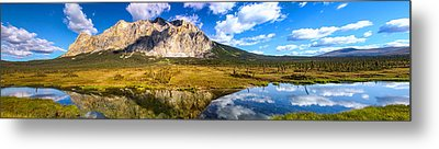 Sukakpak Reflection Metal Print by Chad Dutson