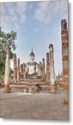 Sukhothai Historical Park - Sukhothai Thailand - 011331 Metal Print by DC Photographer