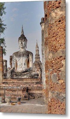 Sukhothai Historical Park - Sukhothai Thailand - 011332 Metal Print by DC Photographer