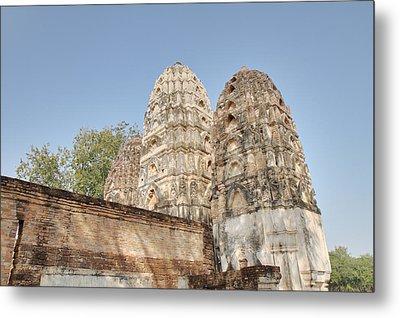 Sukhothai Historical Park - Sukhothai Thailand - 011355 Metal Print by DC Photographer