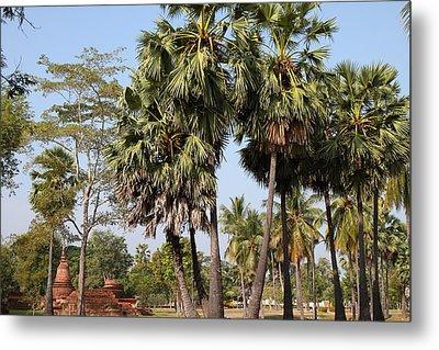 Sukhothai Historical Park - Sukhothai Thailand - 011369 Metal Print