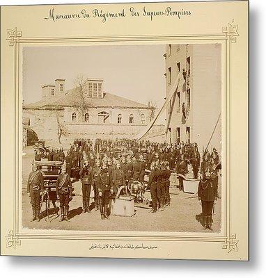 Sultan Abdul Hamid II Collection Metal Print