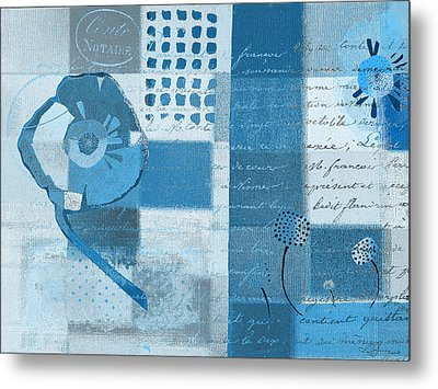 Summer 2014 - J088097112-blueall Metal Print by Variance Collections