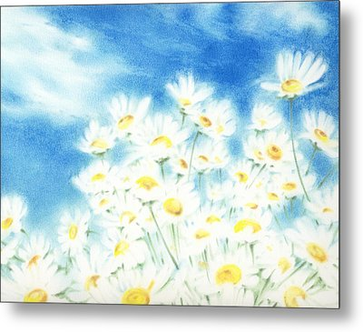 Metal Print featuring the painting Summer Afternoon  by Natasha Denger