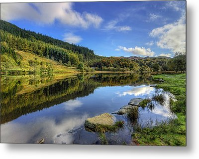 Summer At The Lake Metal Print by Ian Mitchell