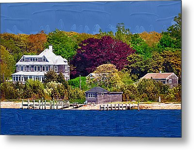 Summer At The Shore Metal Print by Kirt Tisdale
