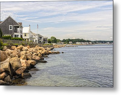 Summer At The Shore Metal Print by Marianne Campolongo