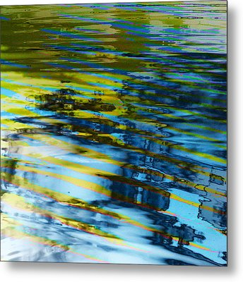 Metal Print featuring the digital art Summer  by Aurora Levins Morales