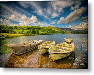 Summer Boating Metal Print