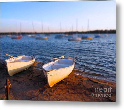 Summer Boats Metal Print