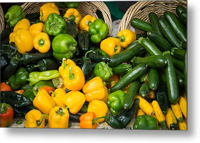 Metal Print featuring the photograph Summer Bounty by Wayne Meyer