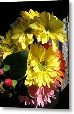 'summer Bouquet In Sunlight'  Metal Print