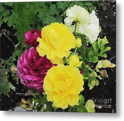 Metal Print featuring the photograph Summer Bouquet by Kathie Chicoine