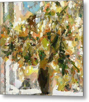 Summer Bouquet Metal Print by Yury Malkov
