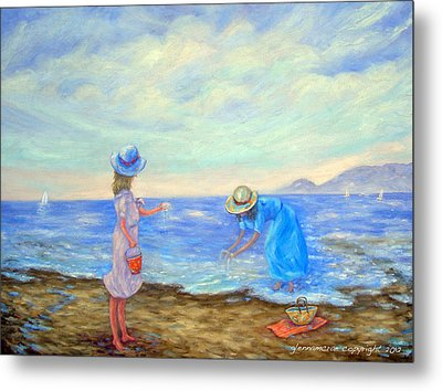 Summer By The Sea... Metal Print by Glenna McRae