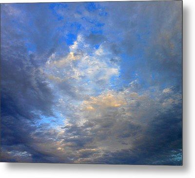 Summer Clouds Metal Print by Kay Gilley