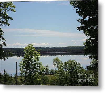 Summer Day In Cape Breton Metal Print