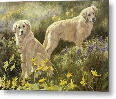 Summer Day Metal Print by Lucie Bilodeau