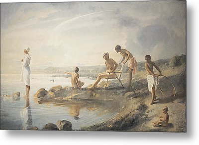 Summer Day Metal Print by Odd Nerdrum