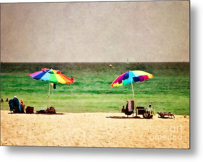 Summer Days At The Beach Metal Print by Scott Pellegrin