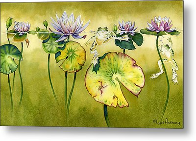 Summer Days Metal Print by Lyse Anthony