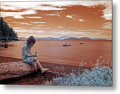 Summer Days Metal Print by Rebecca Parker