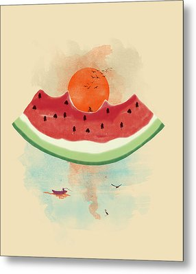 Summer Delight Metal Print