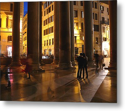 Summer Evening In Rome Metal Print