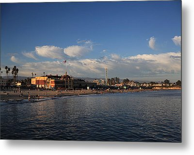 Summer Evenings In Santa Cruz Metal Print by Laurie Search