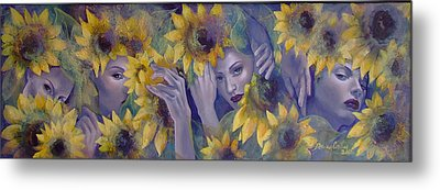 Summer Fantasy Metal Print by Dorina  Costras