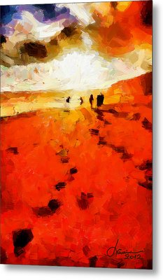 Summer Fire Tnm Metal Print by Vincent DiNovici