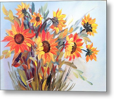 Summer Flowers Metal Print by Dorothy Maier