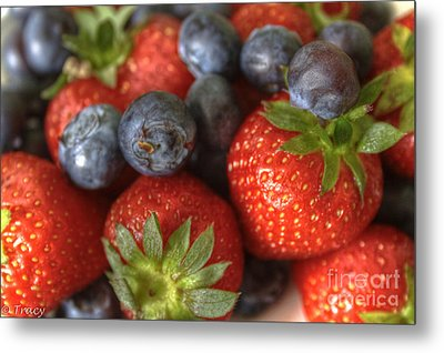 Summer Fruits Metal Print by Tracy  Hall