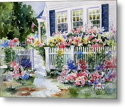 Summer Garden Metal Print by Bobbi Price