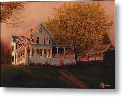 Summer Home Metal Print