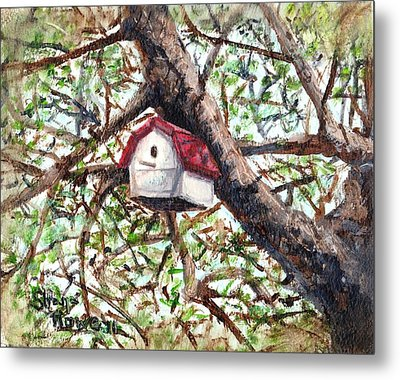 Metal Print featuring the painting Summer Home by Shana Rowe Jackson