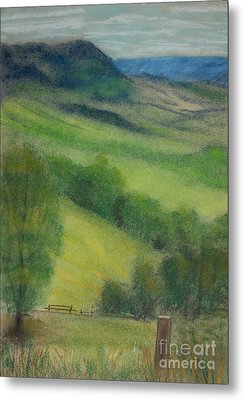 Summer In England Metal Print by Ewa Hearfield