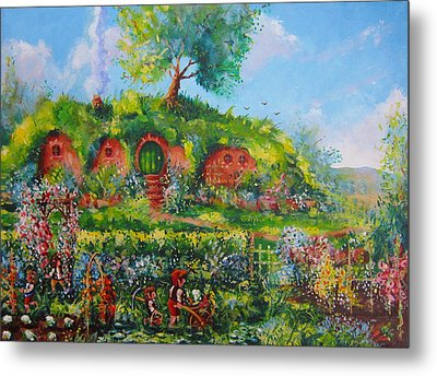 Summer In The Shire Metal Print by Joe  Gilronan