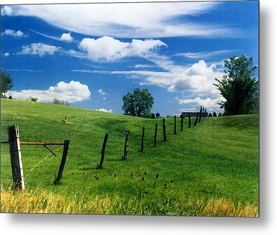 Metal Print featuring the photograph Summer Landscape by Steve Karol