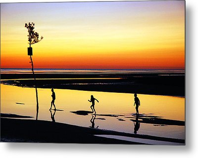 Metal Print featuring the photograph Summer Memories by James Kirkikis